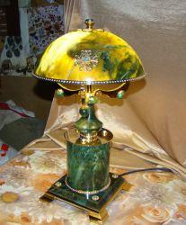 Нефритовая лампа.